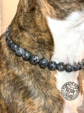 Load image into Gallery viewer, Smoky Labradorite Semi-precious Gem Bead Collar