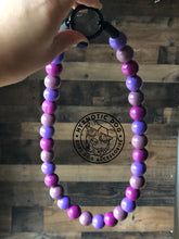 Load image into Gallery viewer, Very Berry Wooden Bead Collar