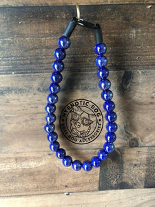 Indigo Ceramic Bead Collar