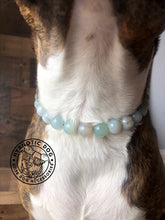 Load image into Gallery viewer, Sky Blue Agate Semi-precious Gem Bead Collar
