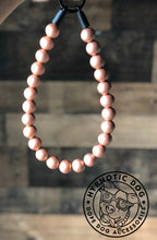 Load image into Gallery viewer, Rose Gold Metallic Wooden Bead Collar