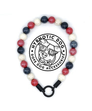 Load image into Gallery viewer, Patriotic Ceramic Bead Collar