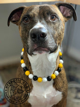 Load image into Gallery viewer, Pittsburgh Steelers Wooden Bead Collar