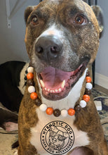 Load image into Gallery viewer, Cleveland Browns Wooden Bead Collar