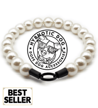 Load image into Gallery viewer, Chunky White Pearls Acrylic Bead Collar