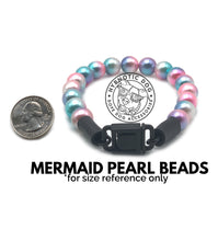 Load image into Gallery viewer, Watermelon XS Mermaid Pearl Bead Collar