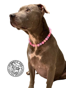 Pink Sugar Bead Collar