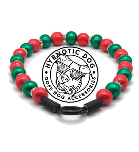 Reindeer Games Wooden Bead Collar