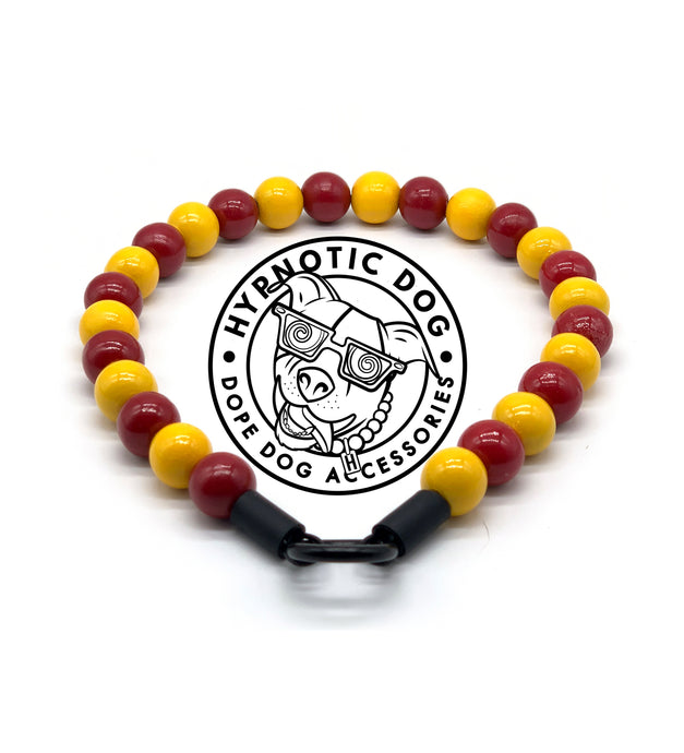 USC Trojans Wooden Bead Collar