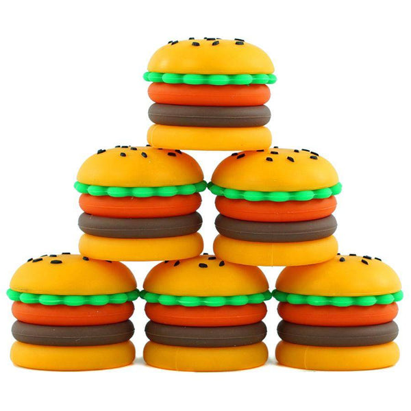 5ml Silicone Hamburger Slick - Head Hunters Smoke Shop