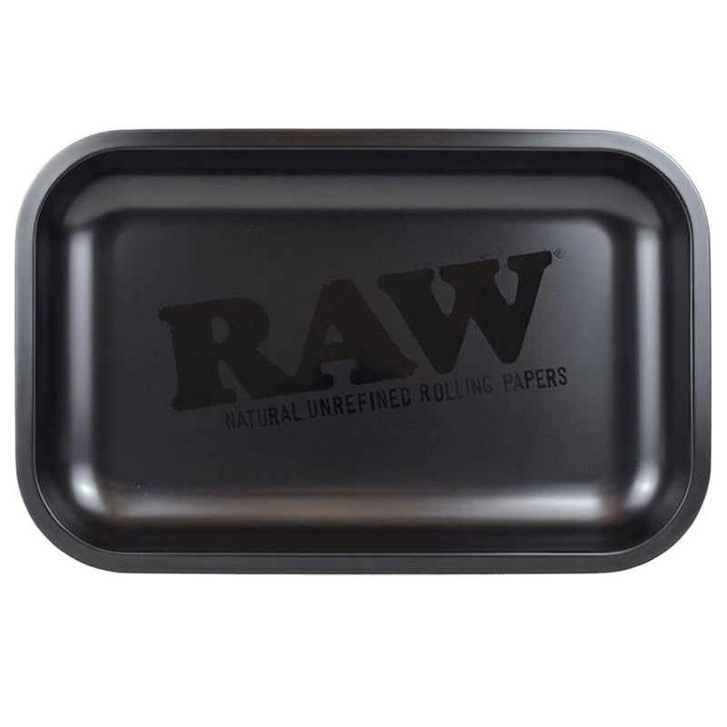 RAW Rolling Tray - Murder'd - Head Hunters Smoke Shop