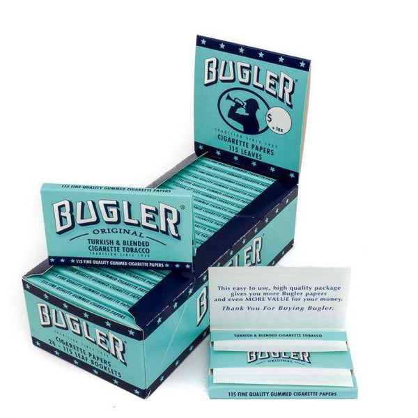 Bugler Rolling Papers (2-in-1) - Head Hunters Smoke Shop