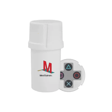 """Gamer"" Medtainer - Head Hunters Smoke Shop"