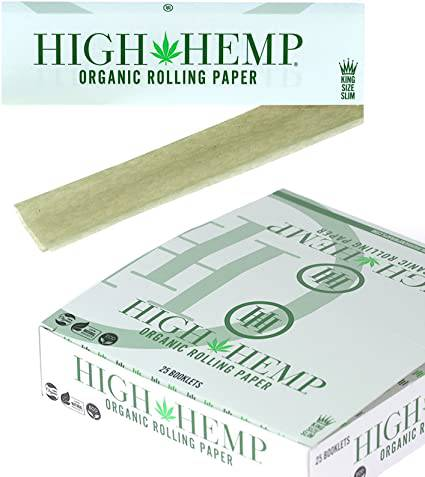 High Hemp Rolling Papers - Head Hunters Smoke Shop