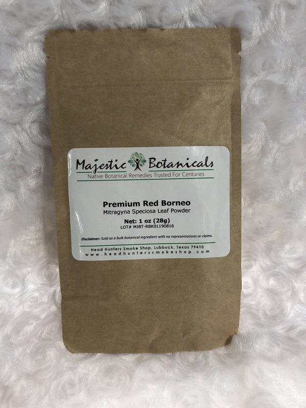 Majestic Botanicals Kratom - Head Hunters Smoke Shop