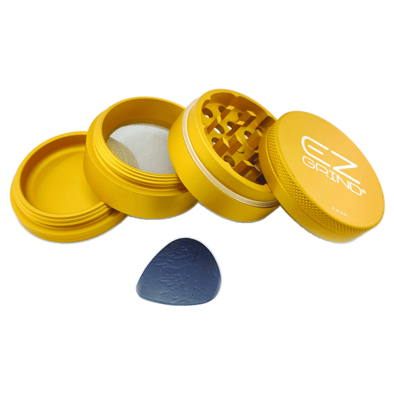 Matte EZ Grinder 43mm - 4 Piece - Head Hunters Smoke Shop