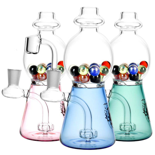 "Pulsar Gumball Machine Rig - 7.5"" - Head Hunters Smoke Shop"