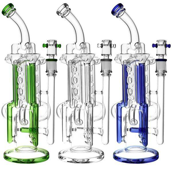 Pulsar Space Station Recycler Water Pipe - Head Hunters Smoke Shop