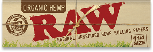 Raw Organic Papers - Head Hunters Smoke Shop