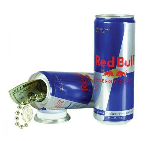 Red Bull Stash Can - Head Hunters Smoke Shop