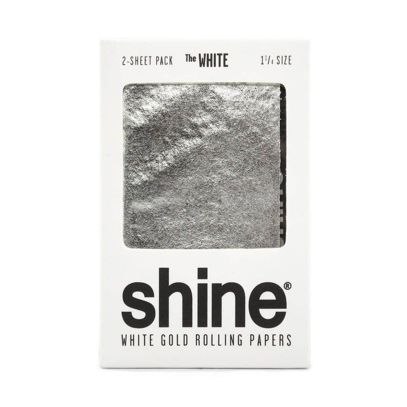 Shine White Gold 2-Sheet Pack - Head Hunters Smoke Shop