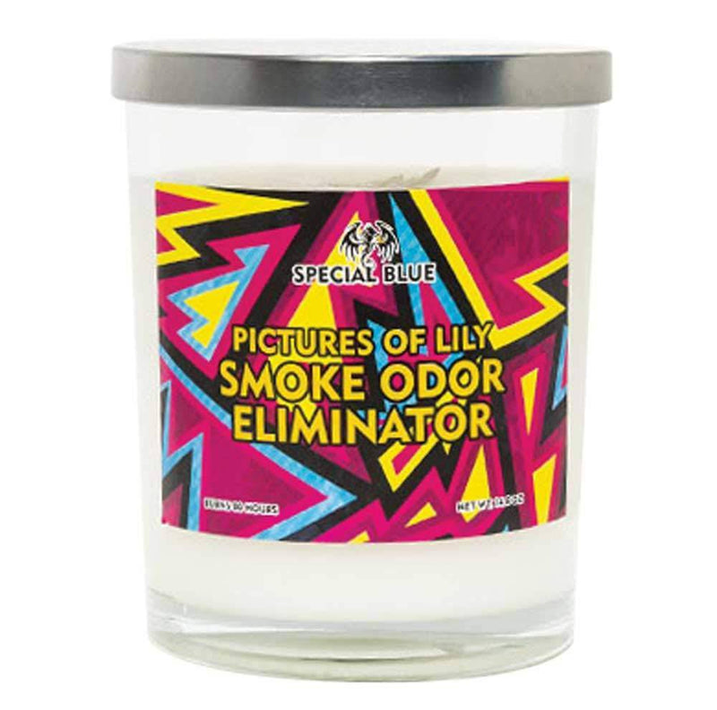 Special Blue Smoke Odor Candles - 14.8oz - Head Hunters Smoke Shop