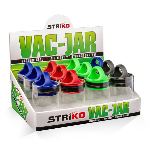 Striko Vac Jars - Head Hunters Smoke Shop