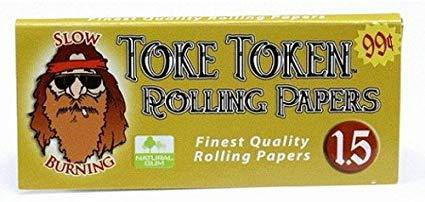 Toke Token Rolling Papers - Head Hunters Smoke Shop