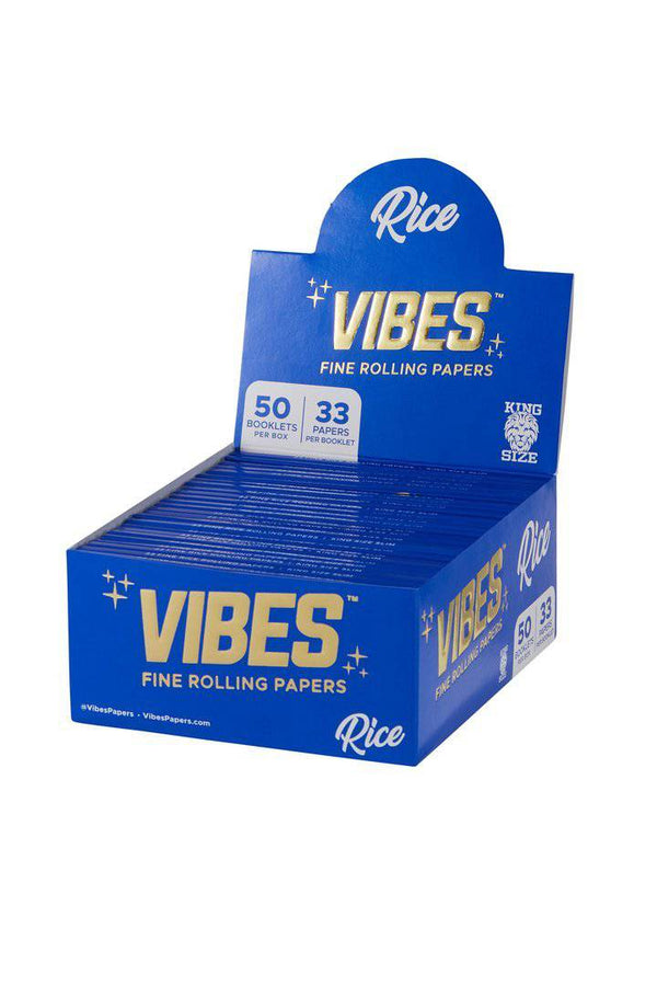 Vibes Rice Rolling Papers - Head Hunters Smoke Shop