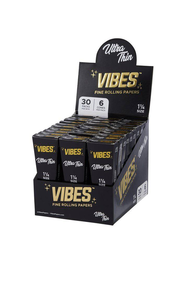 Vibes Ultra Thin Cones - Head Hunters Smoke Shop