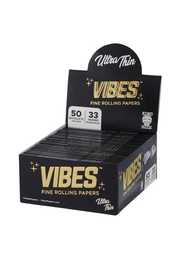 Vibes Ultra Thin Rolling Papers - Head Hunters Smoke Shop
