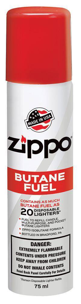 Zippo Butane Fuel - Head Hunters Smoke Shop