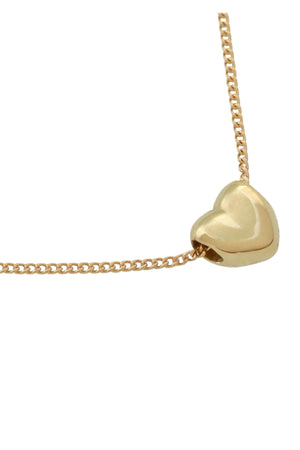 Solid Gold Heart Pendant