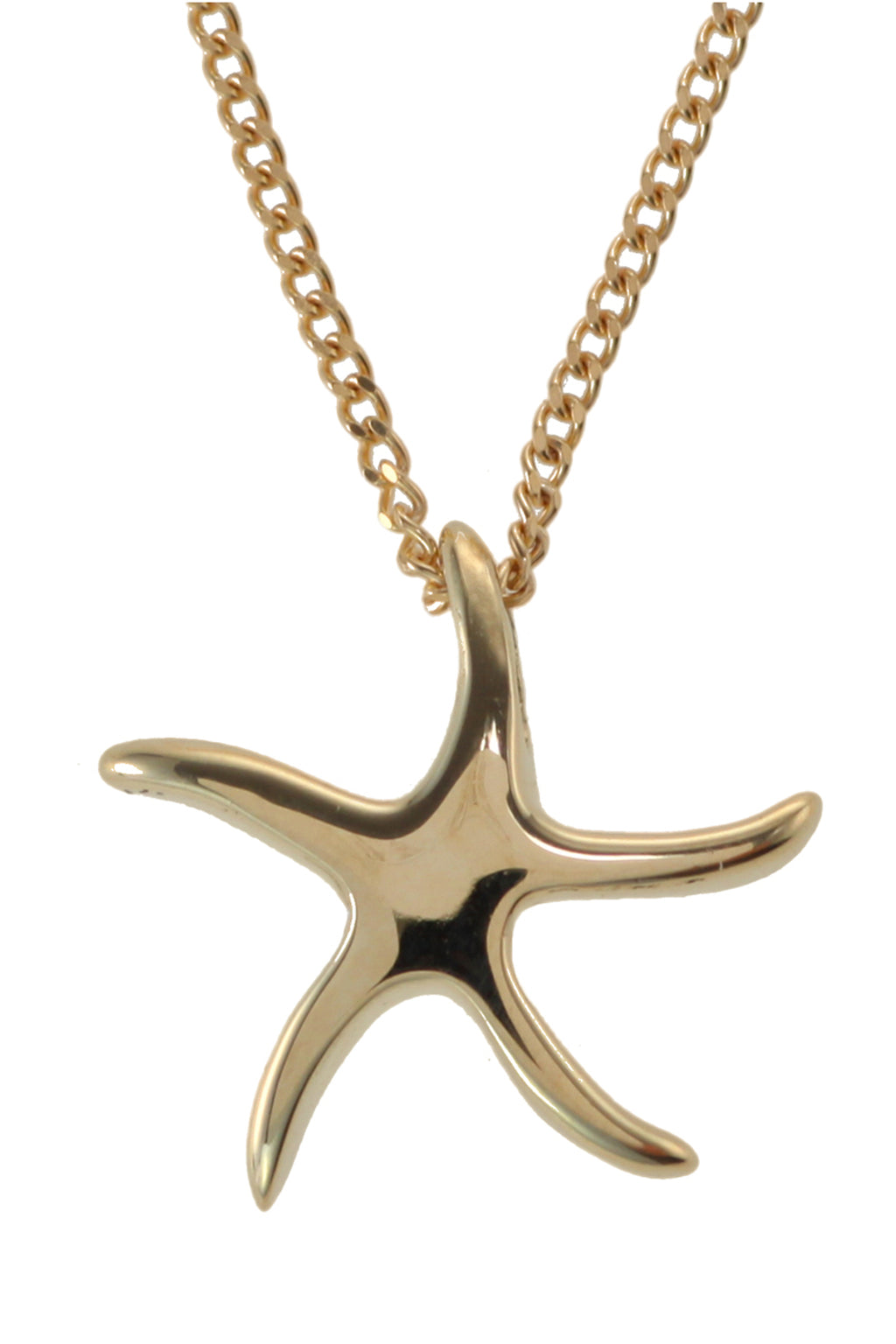9ct Gold Starfish Pendant