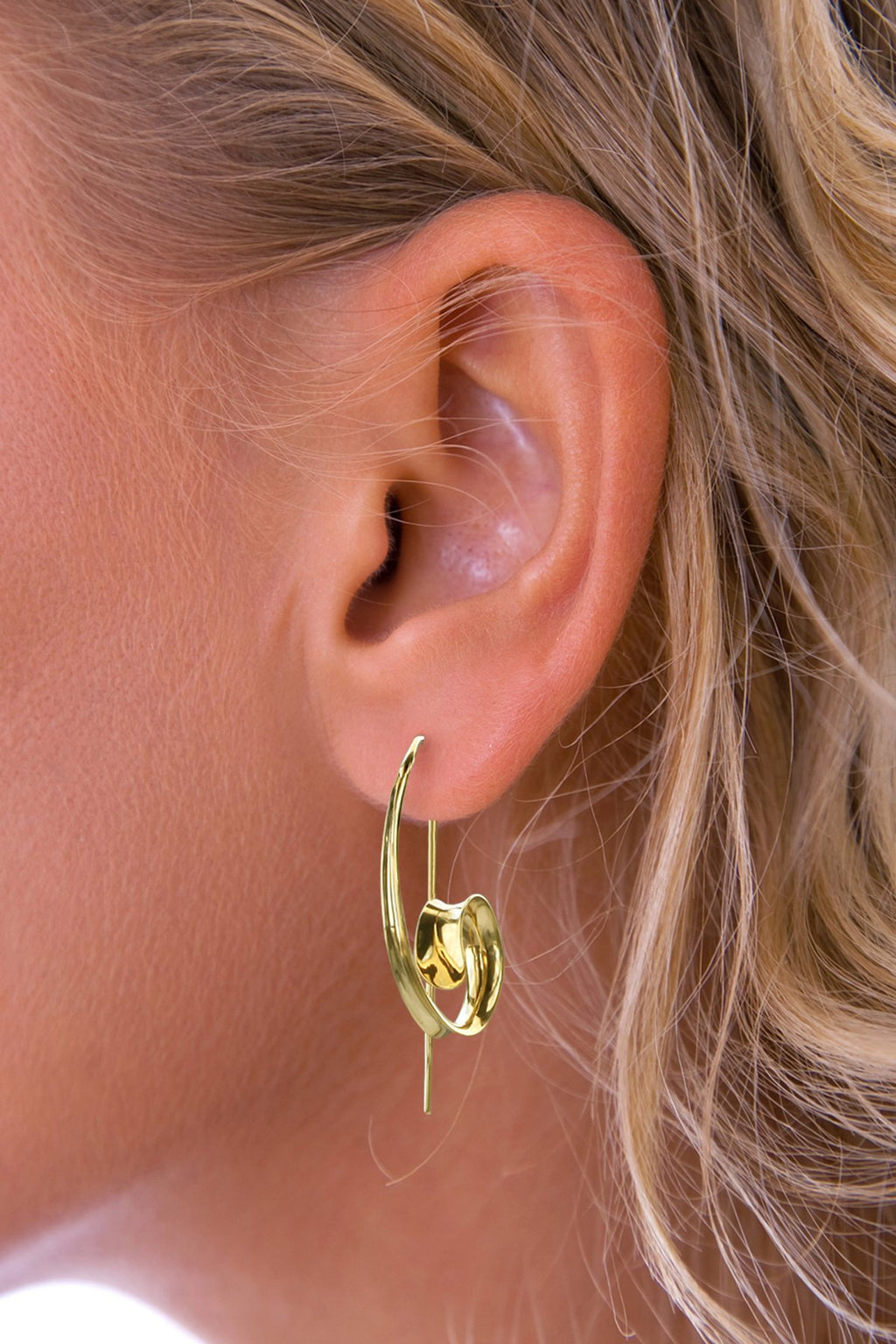 Statement Curl Earrings
