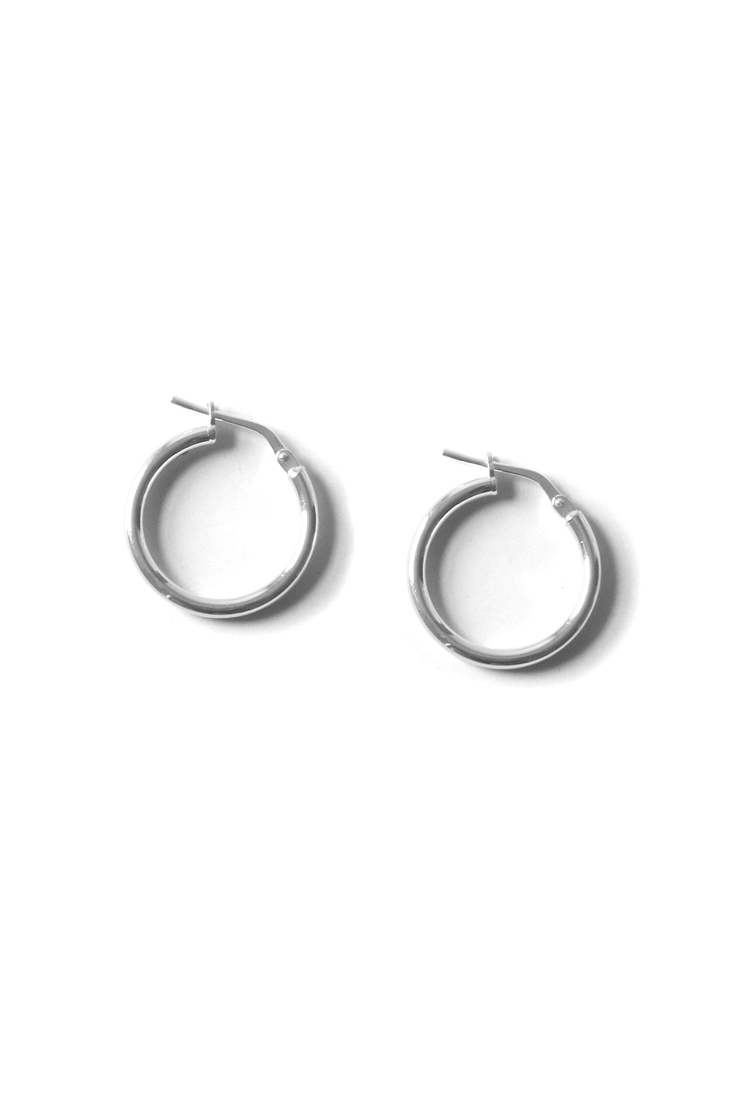 Silver Small Hoop Earrings