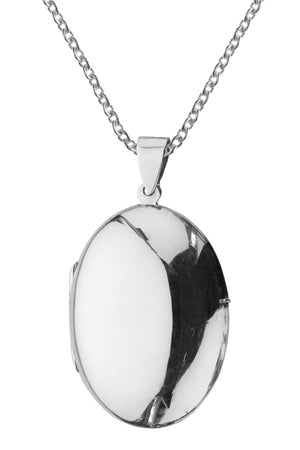 Silver Locket | Nina B Jewellery