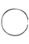 Plain Silver bangle / Nina  B Jewellery