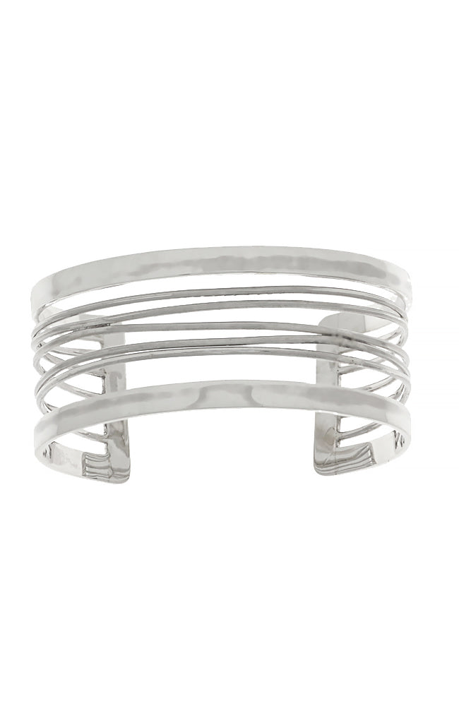 Sterling Silver Russian Wedding Bangle / Nina B Jewellery