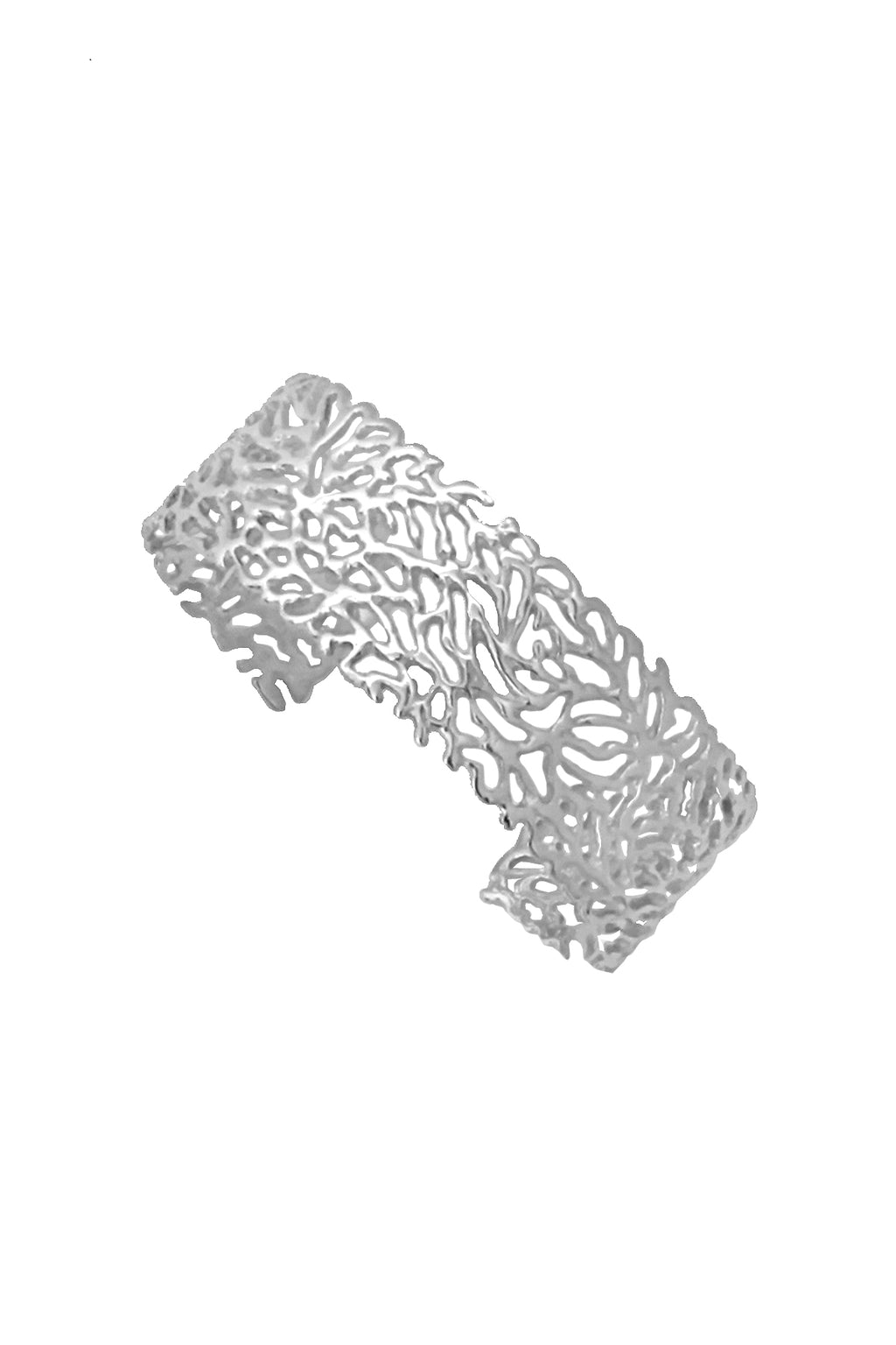 Cobweb Cuff Bangle