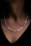 Pegasus twisted Silver Necklet