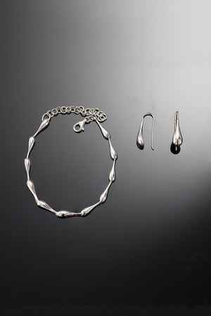 Silver Droplet Set