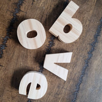 Lowercase Alphabet Blocks Large