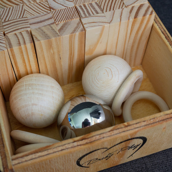 Balls and Blocks Play Box