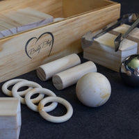 Large Block and Ball Play Box