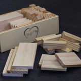 Planks, Cards, and Blocks Play Box