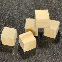Small Wooden Cube