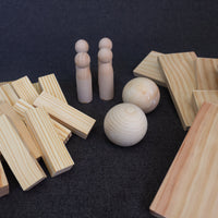 Wood Collection Play Box