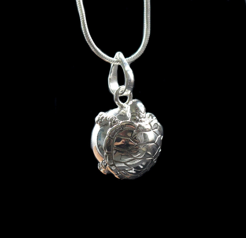 Sterling Silver Turtle Harmony Ball Chime