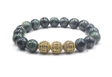 Load image into Gallery viewer, Nephrite jade and Gold